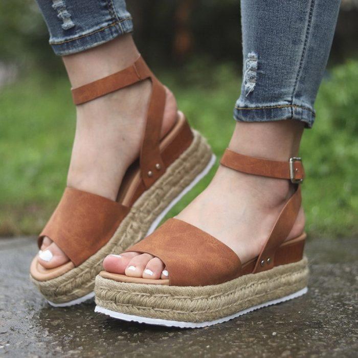 Wedge Sandals Platform Women Shoes