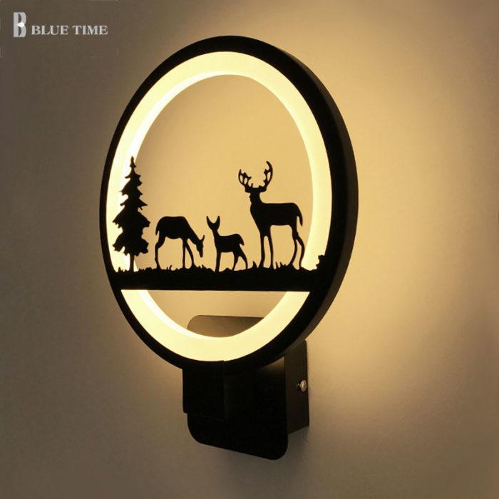 Wall Light Fixture Creative LED Lamp