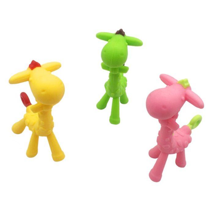 Giraffe Teether Silicone Teething Toy