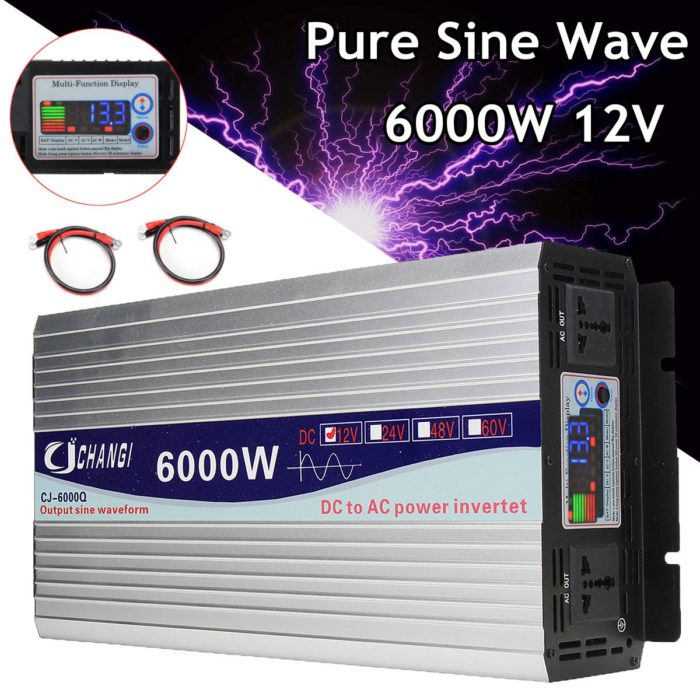 Power Inverter LCD Screen Device