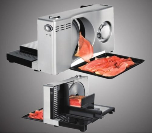 Electric Meat Slicer Kitchen Device