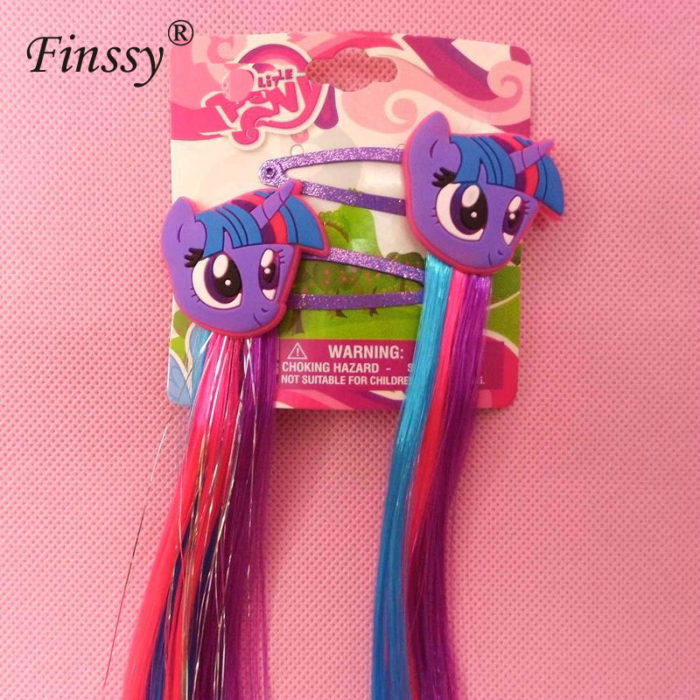 Kids Hair Accessories Little Pony Clips