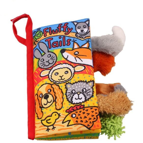 Soft Baby Books Educational Toys