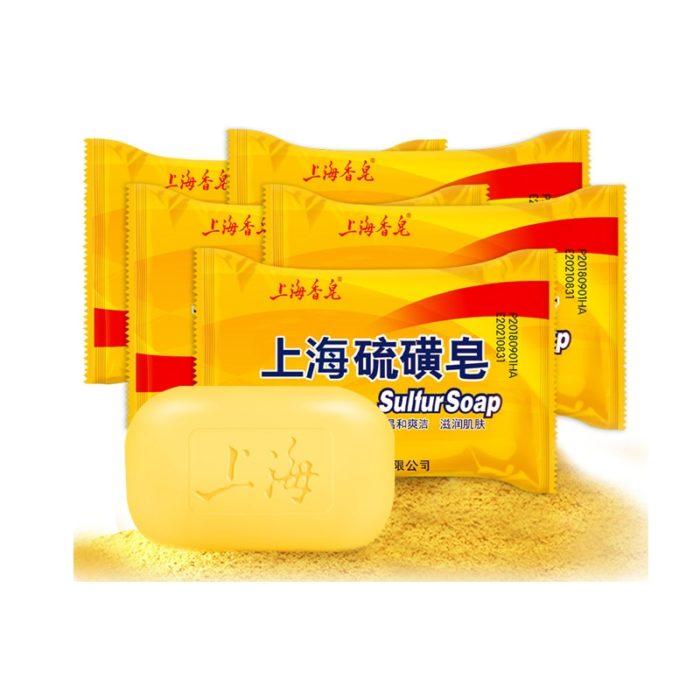 Sulfur Soap For Acne Skin Cleanser