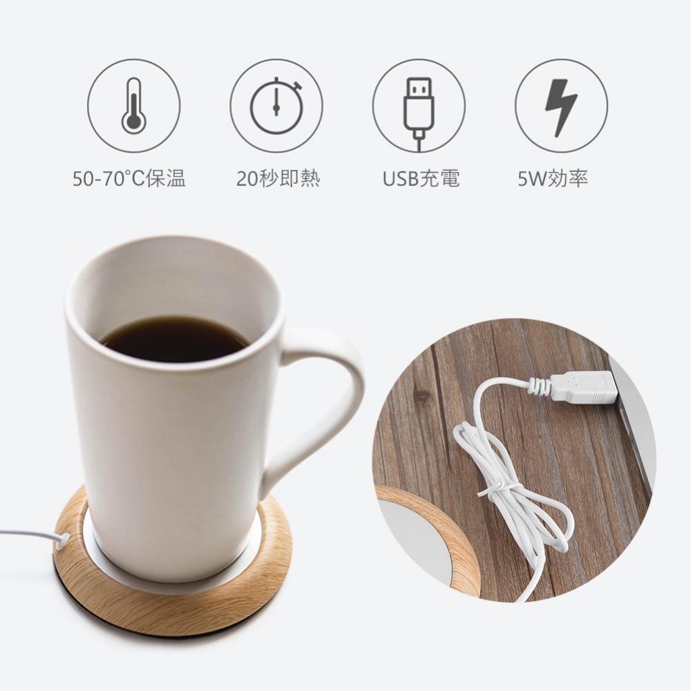 Mug Warmer, Cup Warmer, Smart Coffee Warmer, Coffee Mug Warmer for Desk, Desktop Heated Coffee and Tea, Electric Cup Beverage Warmer Plate, Best Gift
