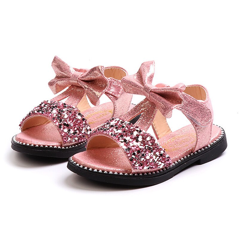 Bow Sandals Girls Fancy Shoes - Life