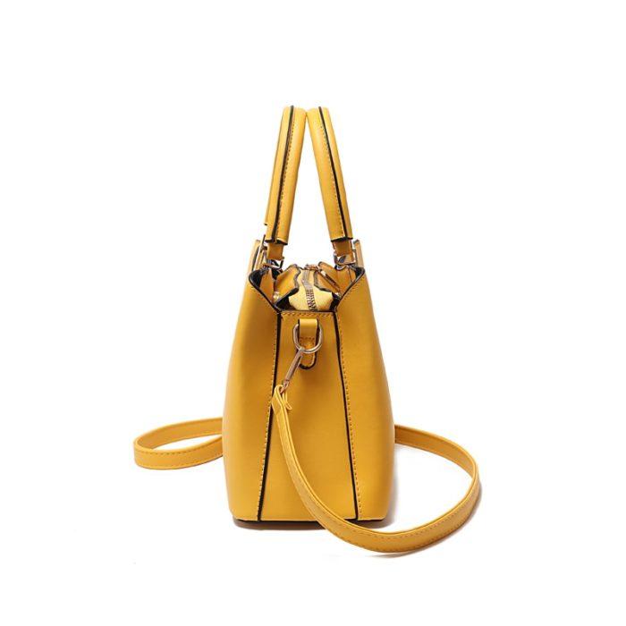 Crossbody Tote Leather Handbag