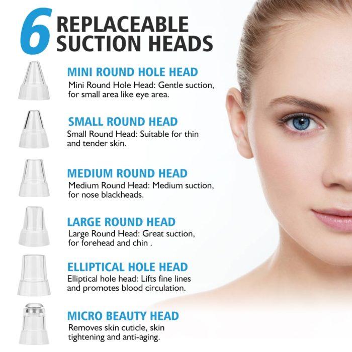 Skin Vacuum Pore Cleaner Suction
