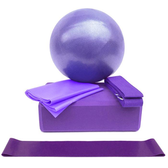 Yoga Ball Exercise Set Sports