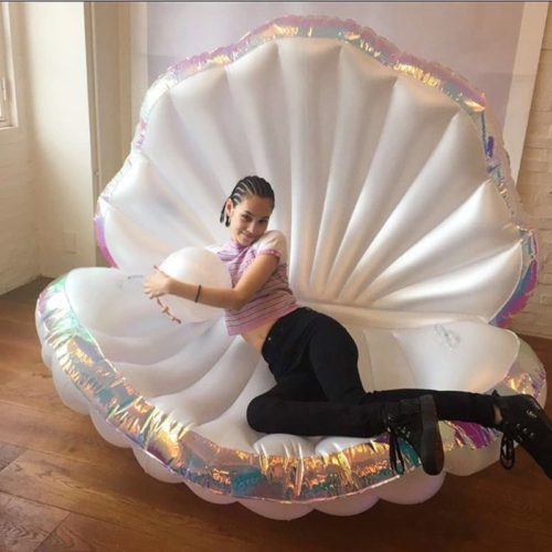 Giant Floaties Shell Water Float