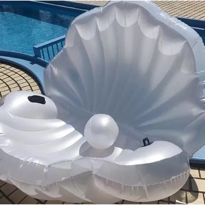 Giant Floaties Shell Water Float