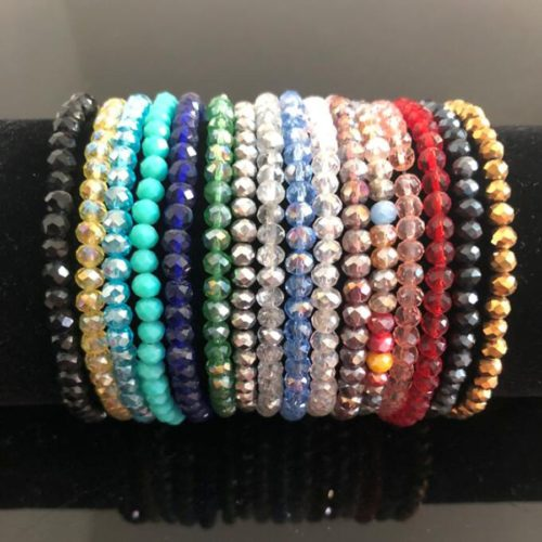 Beaded Bracelets Crystal Beads Jewelries