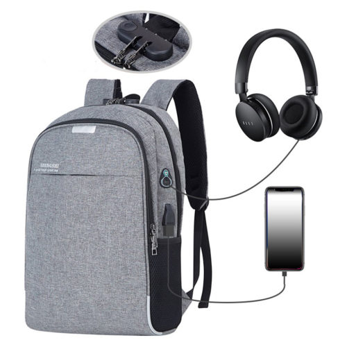 USB Backpack Anti-Theft Waterproof