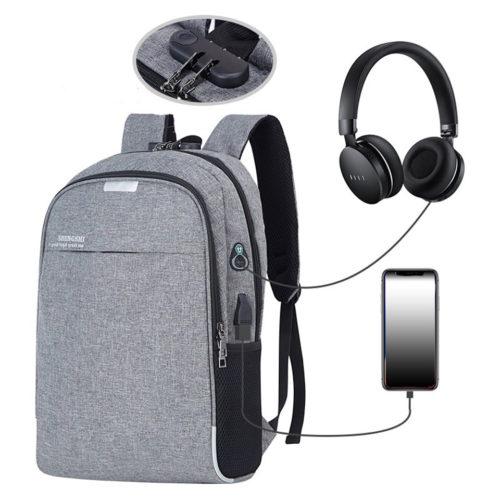 USB Backpack Anti-Theft Waterproof