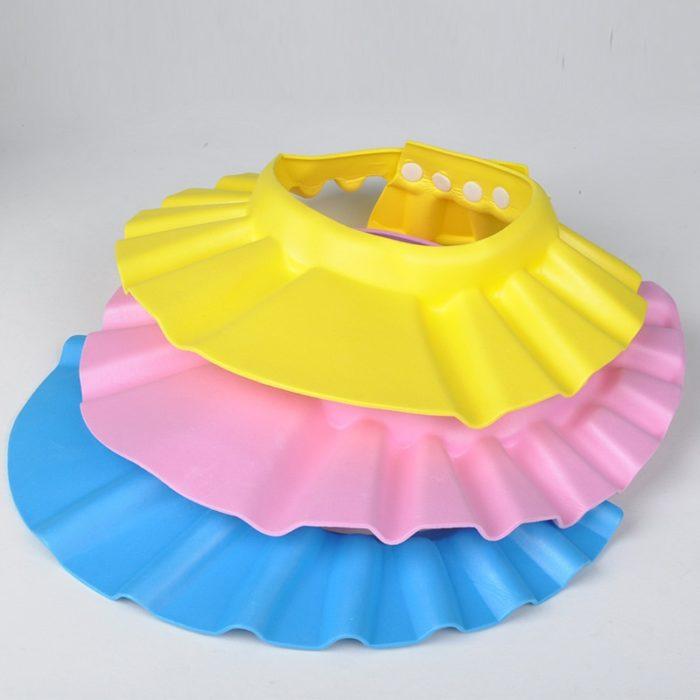 Bathing Cap Kids Shower Shield Hat