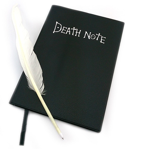 Death Note Notebook Anime Journal