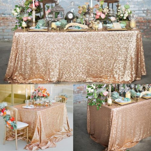Sequin Tablecloth 1 piece Glitter Cloth