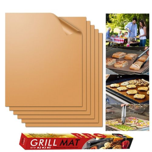 BBQ Mat Reusable Grilling Sheet