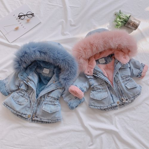 Girls Denim Jacket Kids Outerwear