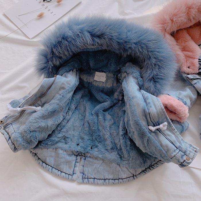 Girls Denim Jacket Kids Outerwear