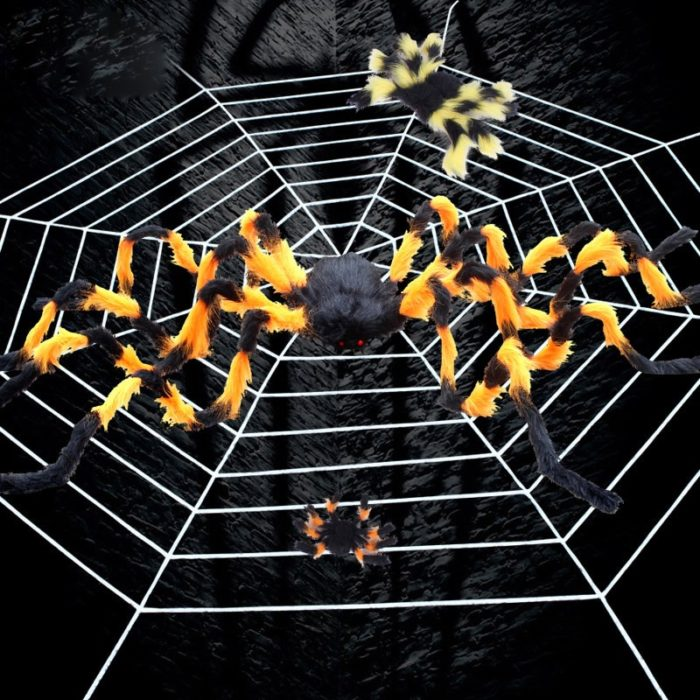 Halloween Spider Web Home Decor