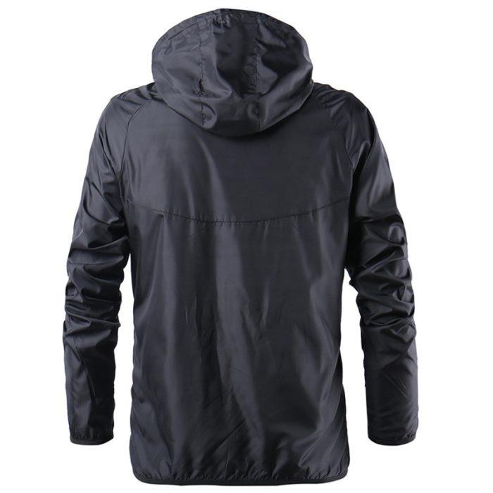 Windbreaker Men Hooded Outdoor Jacket