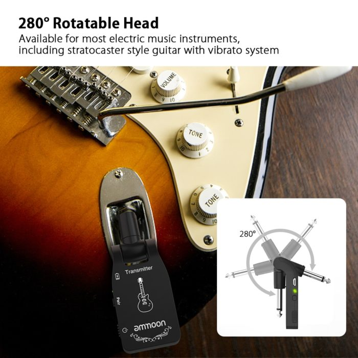 Wireless Guitar Audio Connector