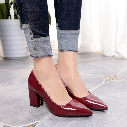 Pointed Toe Heels Women Pumps
