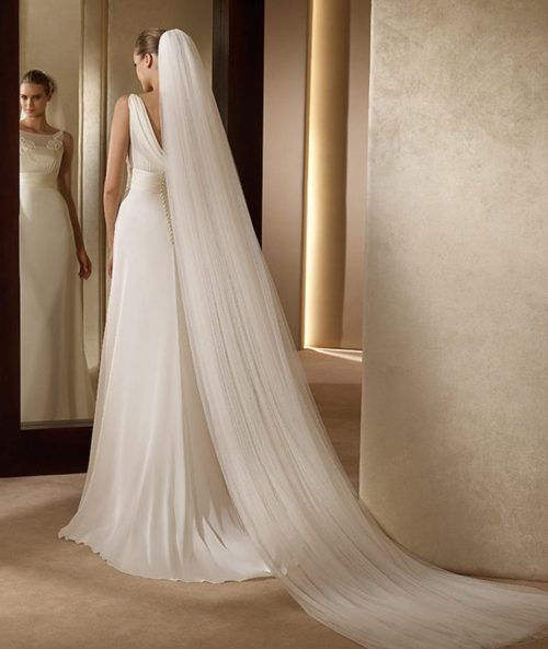 Bridal Veil 2-Layer Wedding Accessory