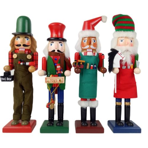 Nutcracker Doll Wooden Decor