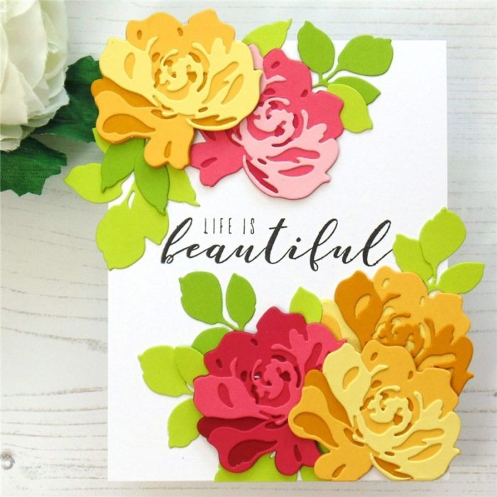 Metal Cutting Dies And Flower Stamps