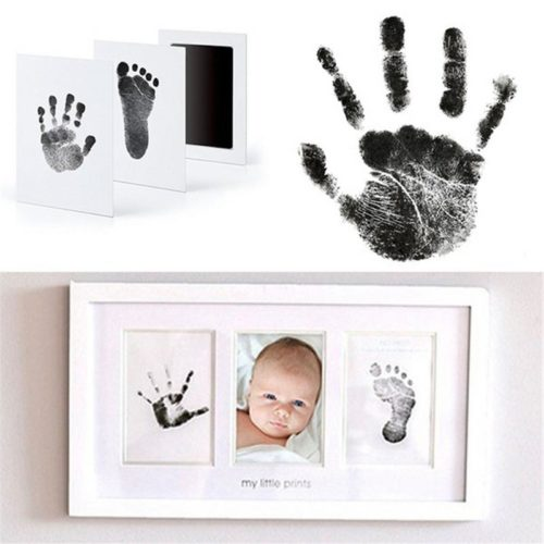 Baby Handprint Kit Footprint Souvenir