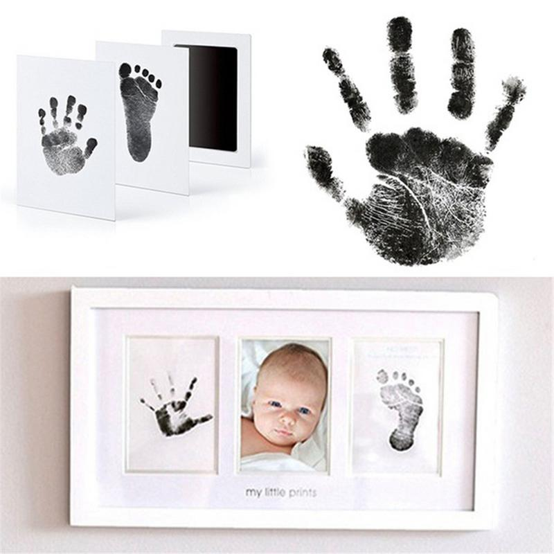 Baby Handprint Kit Footprint Souvenir