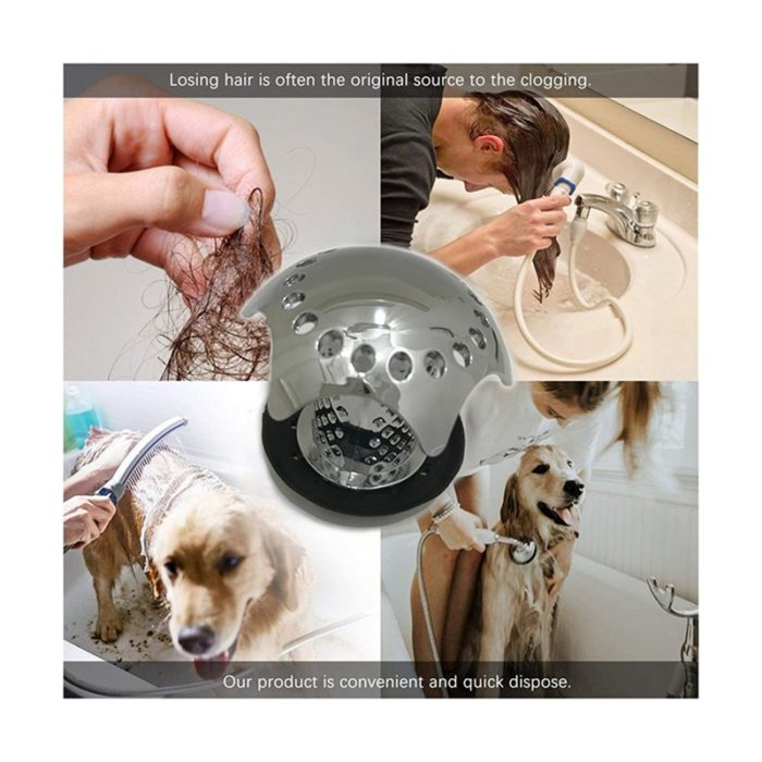 Shower Drain Hair Catcher Cover Strainer