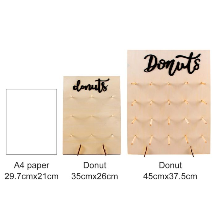 Donut Wall Stand Decoration