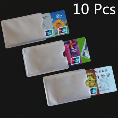 Card Sleeve Anti-Scan 10pcs