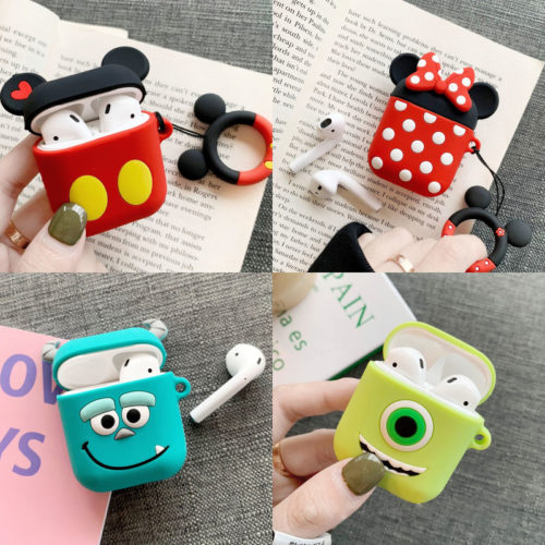 Airpod Silicone Case Cartoon Design