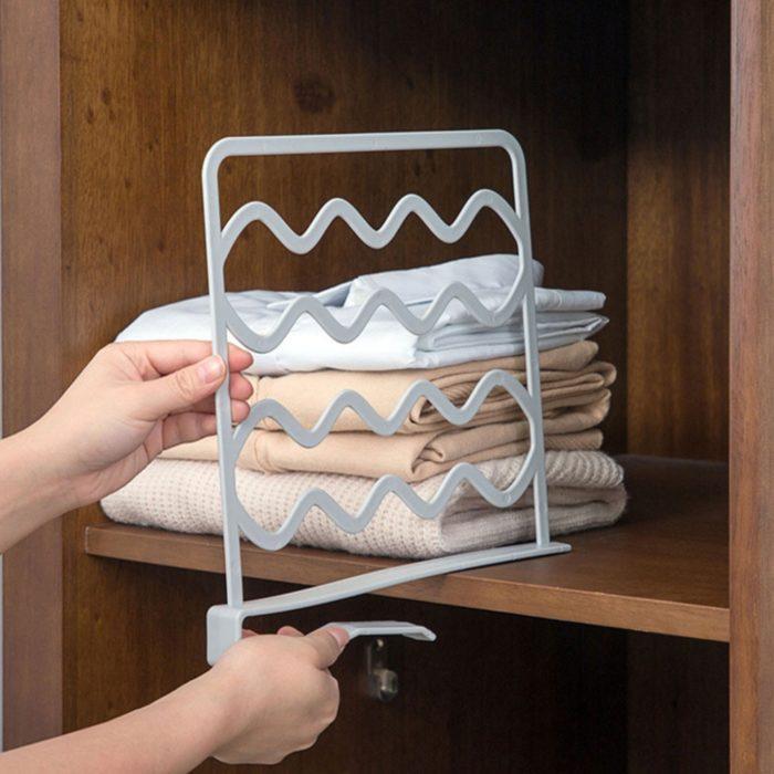 Closet Divider Shelf Partition Organizer