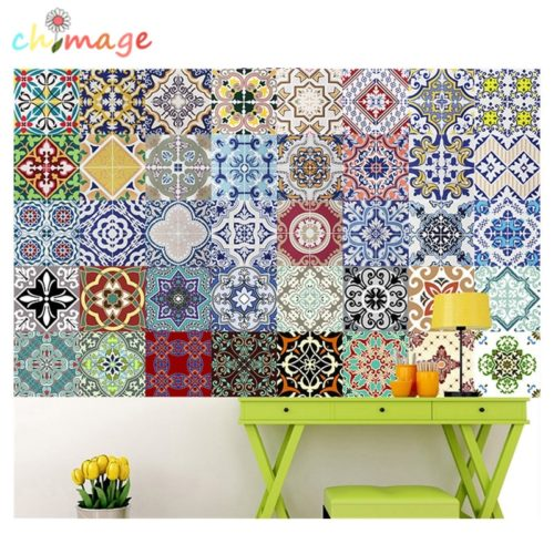 Tile Decal Mediterranean Style Design
