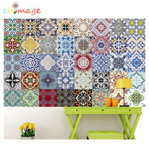 Tile Decal Mediterranean Style Design
