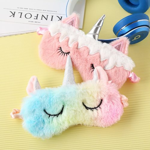 Cute Sleep Mask Blindfold Travel Eyepatch