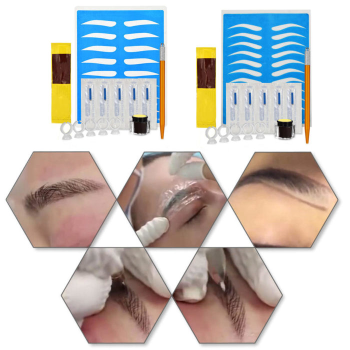Micro-blading Kit Cosmetic Tattoo Art