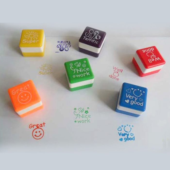 Teacher Stamps 6PC Set