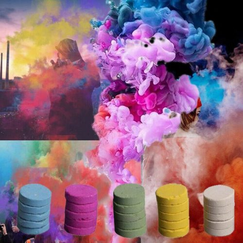 Smoke Cake Colorful Effects 5pcs/set