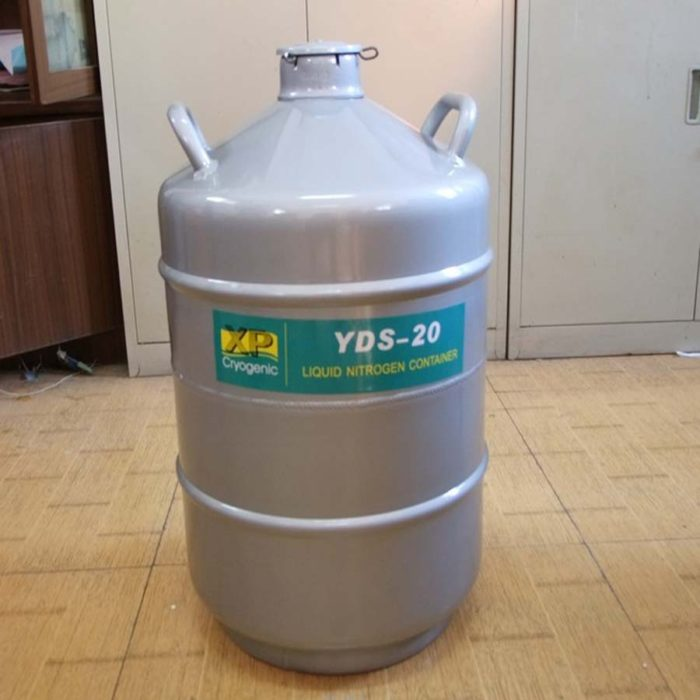 Liquid Nitrogen Container with Case