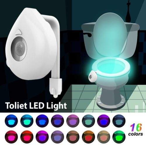 Lighted Toilet Seat Motion Sensor