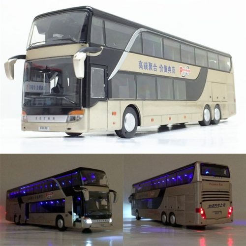 Model Bus Realistic Toy Vehicle