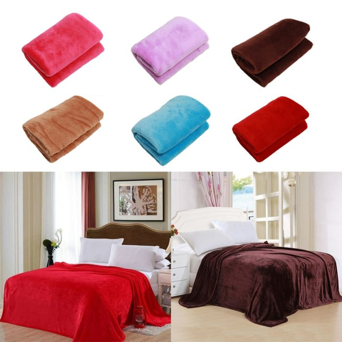 Flannel Blanket Comfortable Bed Sheets