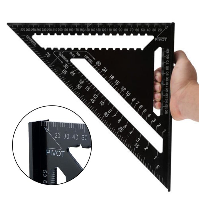 Triangle Ruler Woodworking Tools