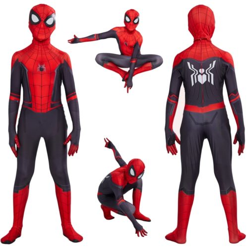 Spiderman Costume Halloween Cosplay Suit